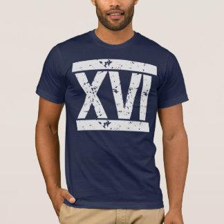 BEUNRUHIGTES römische ZIFFERN 16. T-Shirt