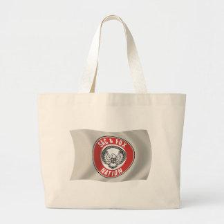 Beutel u. Flaggen-Taschen-Tasche Jumbo Stoffbeutel