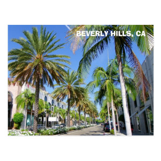 Beverly Hills, Rodeo-Dr. Postcard! Postkarte