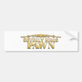 Beverly- Hillspfand Autoaufkleber