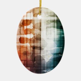 Bevollmächtigte Fachleute, die im Team Konzept Keramik Ornament