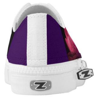 Bevollmächtigung Leute-der lila Niedrig-geschnittene Sneaker