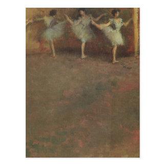 Bevor das Ballett durch Edgar entgasen, Vintage Postkarte