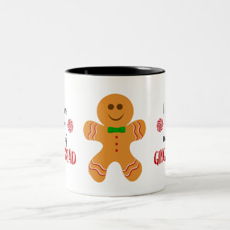 Bevorzugen Sie Lebkuchen-Mann-Tasse Zweifarbige Tasse