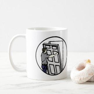 Bevorzugte Dienstleistungen blau Kaffeetasse