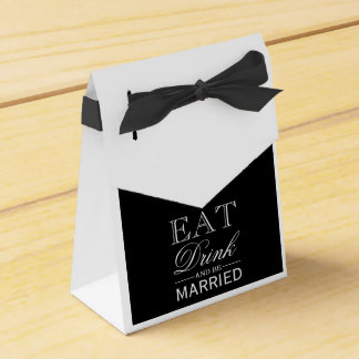 Favor Box - Eat Drink & Be Married