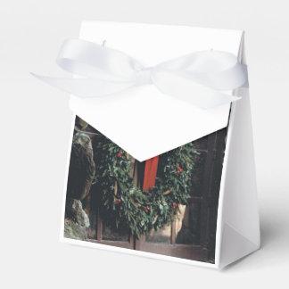 Bevorzugungs-Kasten mit WeihnachtsKranz-Entwurf Geschenkschachtel