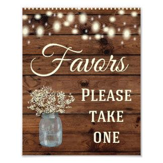 Bevorzugungs-Zeichen, Wedding Zeichen, Wedding Fotodruck