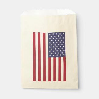 Bevorzugungstasche mit Flagge von USA Geschenktütchen