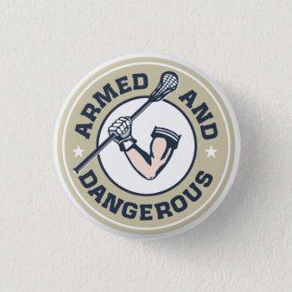 Bewaffneter und gefährlicher lockerer Knopf Runder Button 3,2 Cm