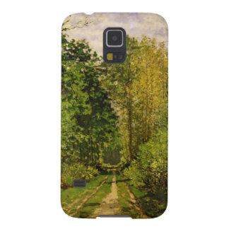Bewaldeter Weg Claude Monets | Galaxy S5 Hülle