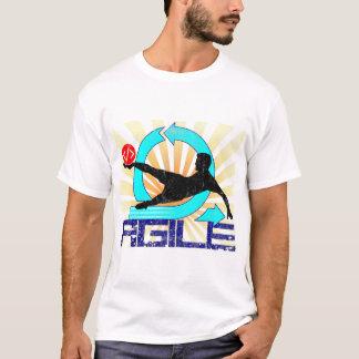 Beweglich - treten Sie es! T-Shirt