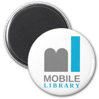 bewegliche Bibliothek Runder Magnet 5,7 Cm