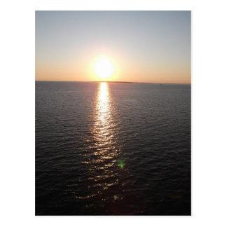 Bewegliche Bucht-Sonnenuntergang Postkarten