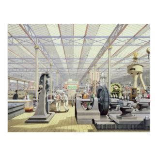 Bewegliche Maschinerie, von 'Dickinsons umfassend Postkarte