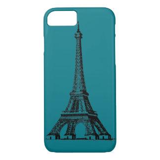 beweglicher Kasten des Eiffelturms für Mobile iPhone 8/7 Hülle