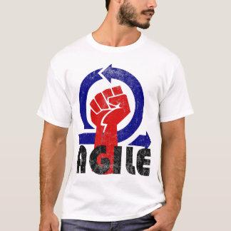 Beweglicher Power - Vintage Art T-Shirt