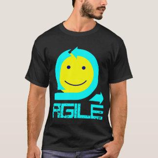 Beweglicher smiley - für Schwarzes oder Dunkelheit T-Shirt
