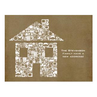 Bewegliches Haus-neue Postkarten