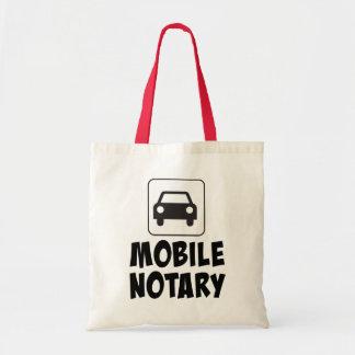 Bewegliches Notars-Auto-Zeichen Tragetasche