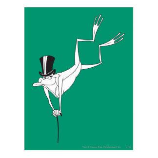 Bewegungen Michigans J. Frog Dacing Postkarte