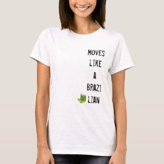 Bewegungen wie ein Brasilianer T-Shirt
