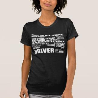 Bewegungssport-laufende Fahrer-bestste Fahrer-Welt T-Shirt