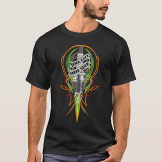 Bewegungsstadt-Geschwindigkeits-GeschäftSparkplug T-Shirt