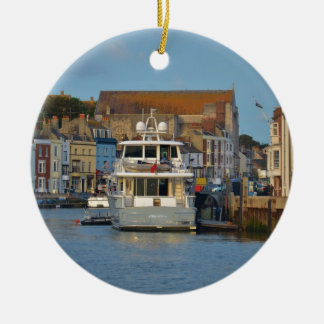 Bewegungsyacht in Weymouth Keramik Ornament