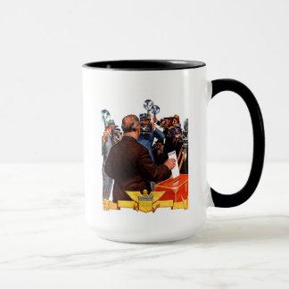 Bewerberabstimmung Tasse