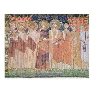 BewilligenBischof Constantines IV Privilegien Postkarte