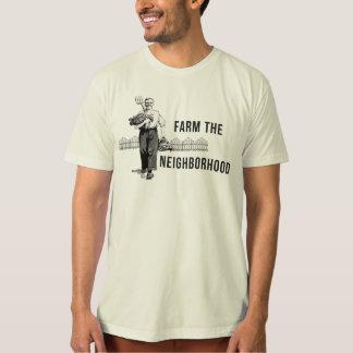 Bewirtschaften Sie das Nachbarschaft städtische T-Shirt
