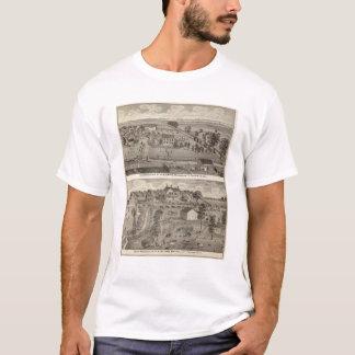 Bewirtschaften Sie Wohnsitze von HB Kay und YA T-Shirt