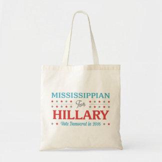 Bewohner von Mississippi für Hillary Tragetasche