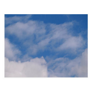 Bewölkter Himmel Postkarte