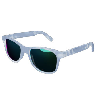 Bewölkter Himmel Sonnenbrille