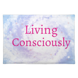 Bewusst leben tischset