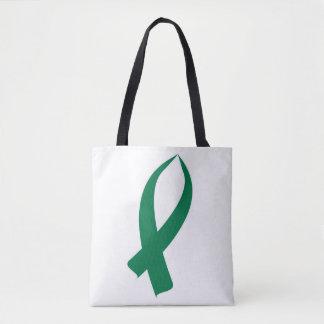 Bewusstseins-Band (Grün) Tasche
