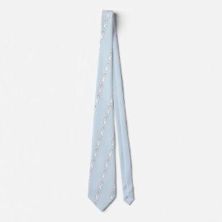 Bewusstseins-Band (weiß) Krawatte