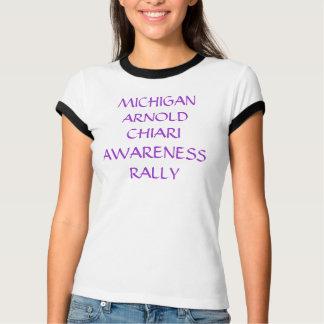 BEWUSSTSEINS-KUNDGEBUNG MICHIGANS ARNOLD CHIARI T-Shirt