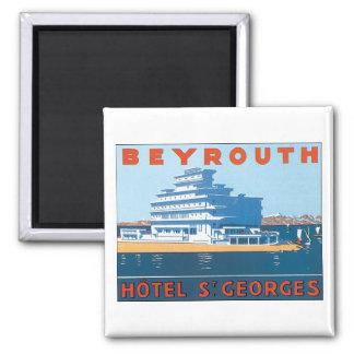 Beyrouth, Hotel-St. Georges Kühlschrankmagnet