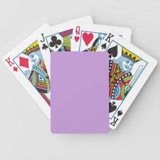 Bezaubernd vorzügliche lila Farbe P07 Bicycle Spielkarten