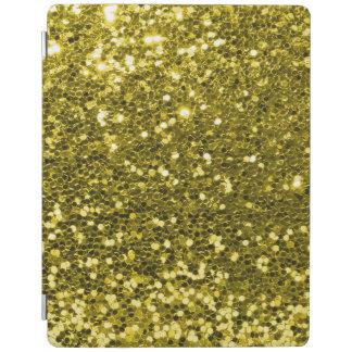 Bezaubernder Imitat-GoldGlitter-Schein-Druck iPad Hülle