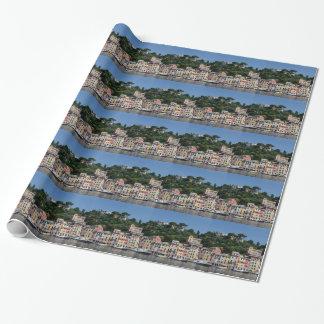 Bezauberndes Portofino, Italty Geschenkpapier