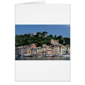 Bezauberndes Portofino, Italty Karte