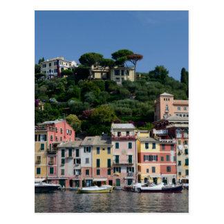 Bezauberndes Portofino, Italty Postkarte