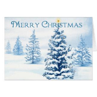 Bezauberndes Weihnachten Karte
