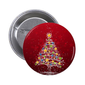 Bezauberndes Weihnachten Runder Button 5,1 Cm