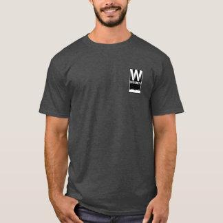 Bezirk-Sicherheit T mit größerem Bezirk-Logo T-Shirt