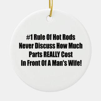 bezüglich 1 Regel der frisierter Autos nie Keramik Ornament